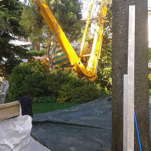 Opere particolari - autopompa cemento