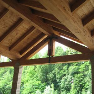 Strutture in legno e ferro